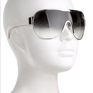 D&G Gradient Tint Shield Sunglasses